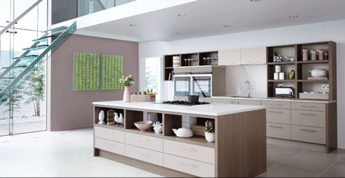 Fitted kitchens by Mereway and Pronorm