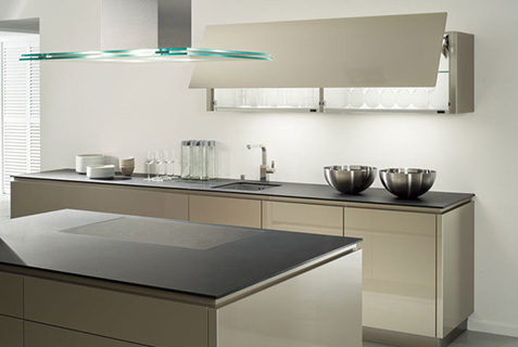 Beckermann handleless kitchen