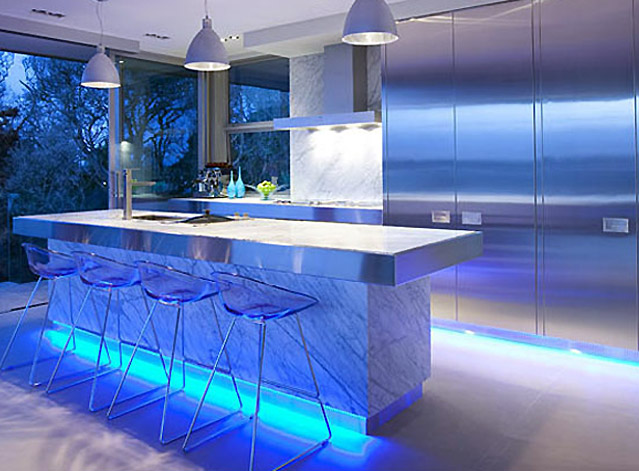 kitchen lighting is easy with the new led products from kitchen rh kitchendesigners co uk led lighting for kitchens under cupboard led track lighting for kitchens